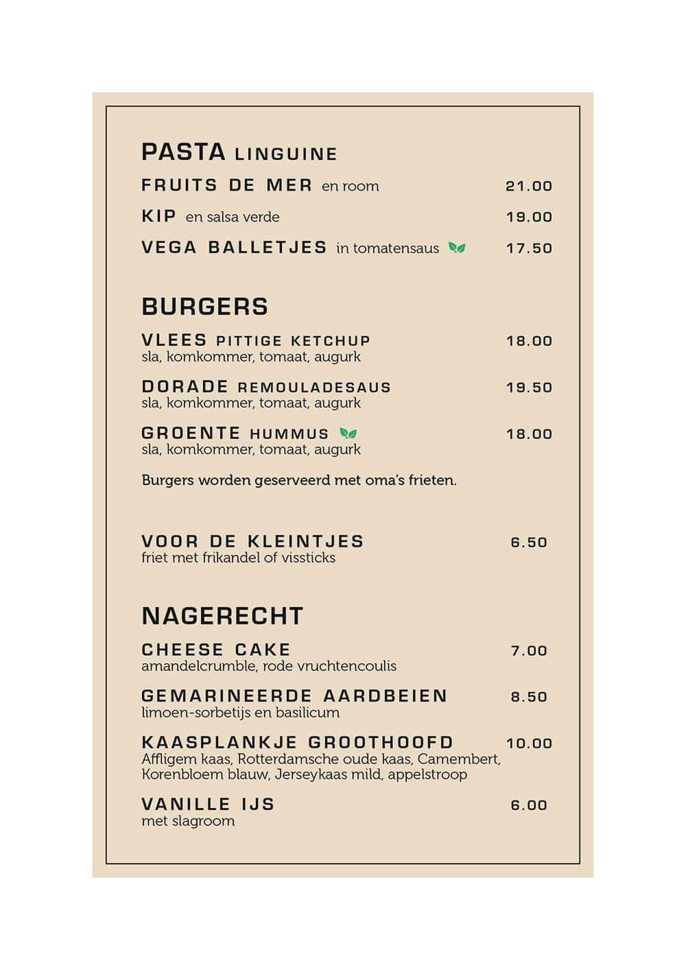 diner Groothoofd