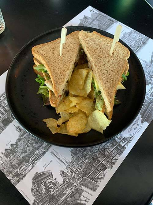club sandwich kip